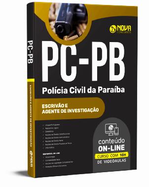 Apostila PC PB 2021 PDF Grátis Concurso PC PB 2021