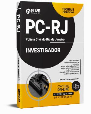 Apostila PC RJ 2021 PDF Grátis Investigador PC RJ