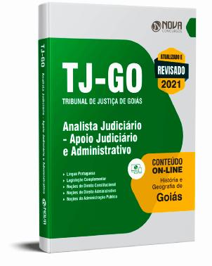 Apostila TJ GO 2021 PDF Download Grátis Concurso TJ GO 2021