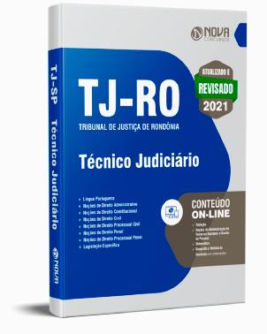 Apostila TJ RO 2021 PDF Download Concurso Técnico Judiciário