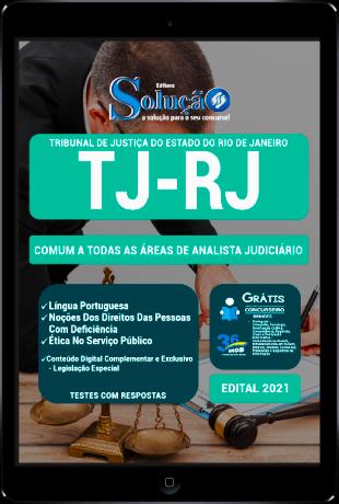 Apostila TJ RJ 2021 Analista Judiciário PDF Download