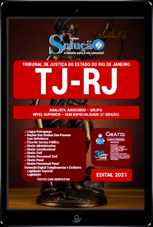 Apostila Concurso TJ RJ 2021 PDF Download Analista Judiciário