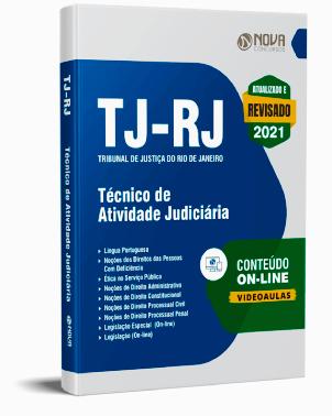 Apostila Concurso TJ RJ 2021 PDF Download Grátis e Impressa